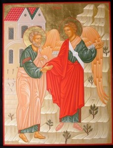St. Peter and the Angel